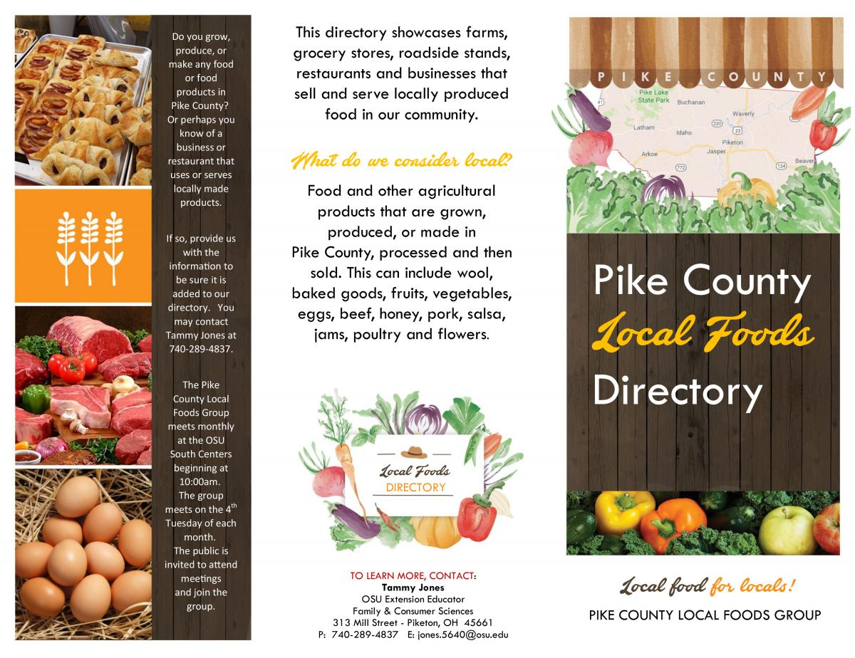 local foods directory